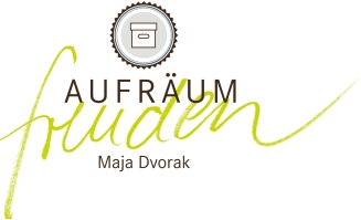 Aufräumfreuden Maja Dvorak