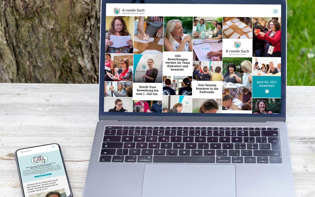Ein neuer Verein – eine neue Website